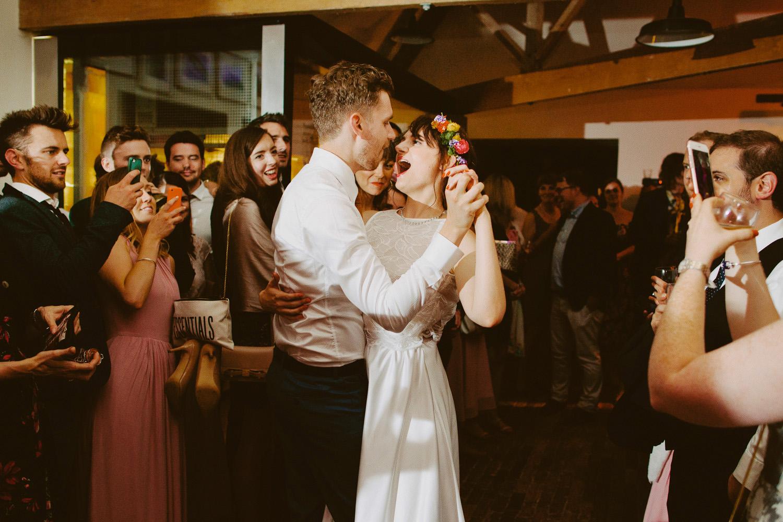 at Hauser & Wirth Somerset wedding