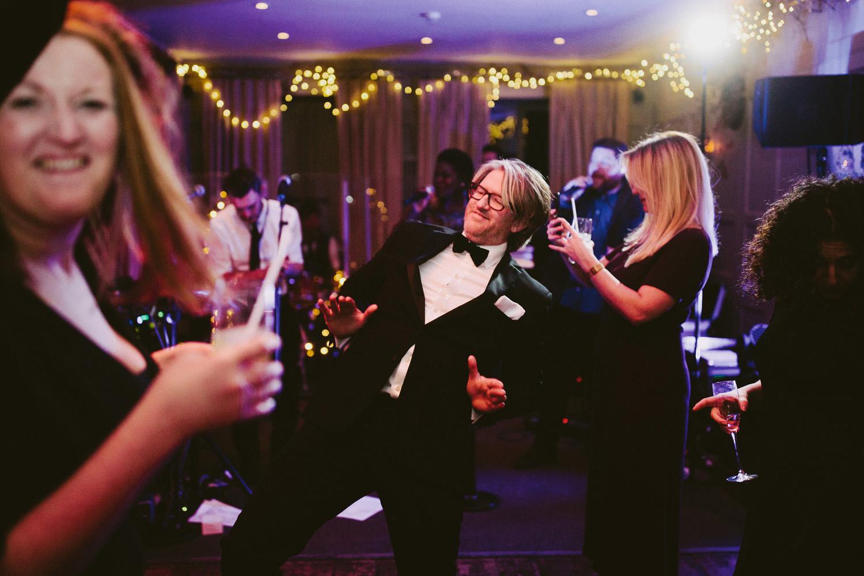man dancing at Barnsley House