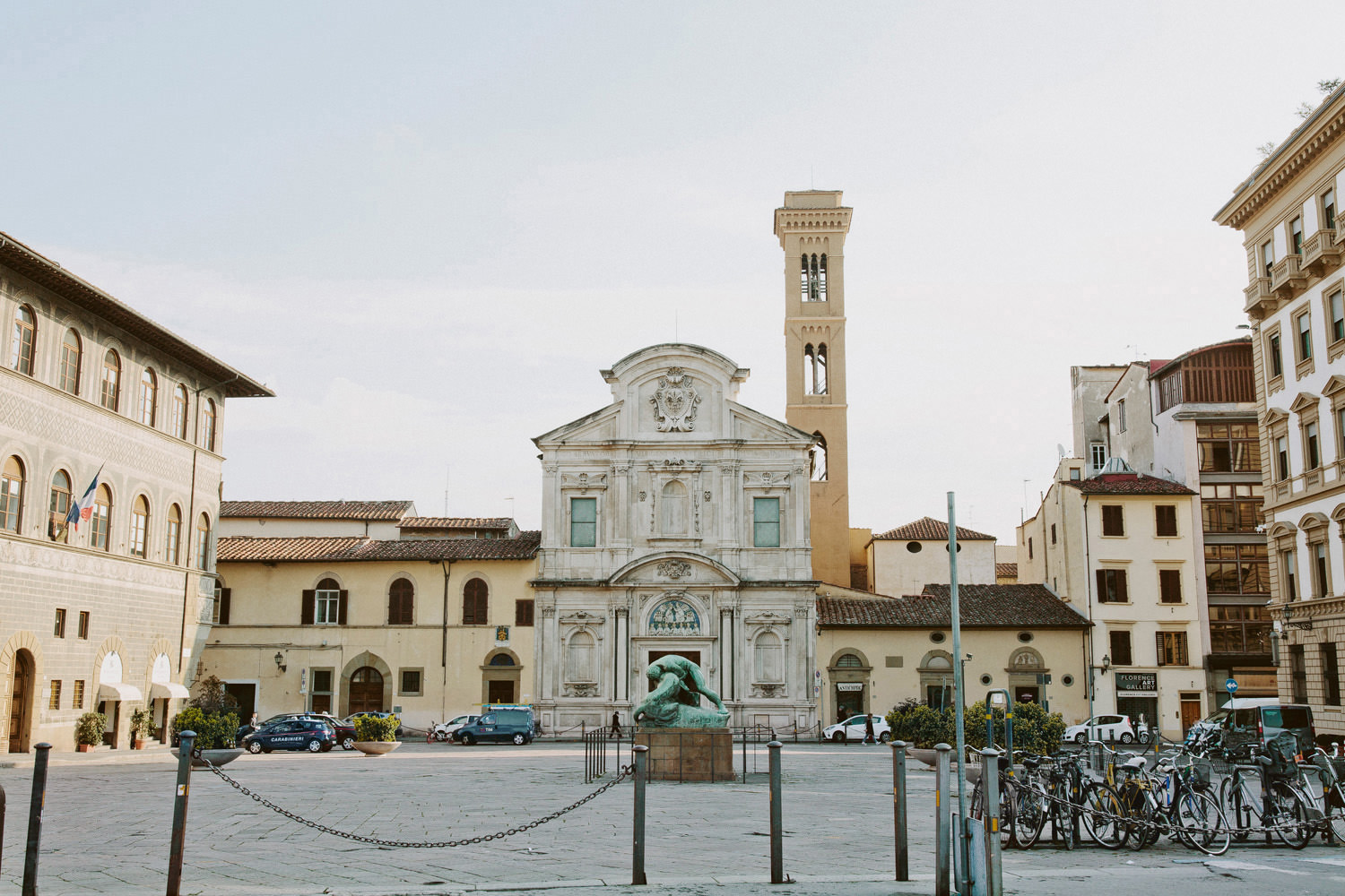 town square in florence