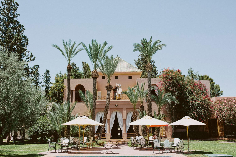 Dar Ayniwen in Marrakech Palmerie area