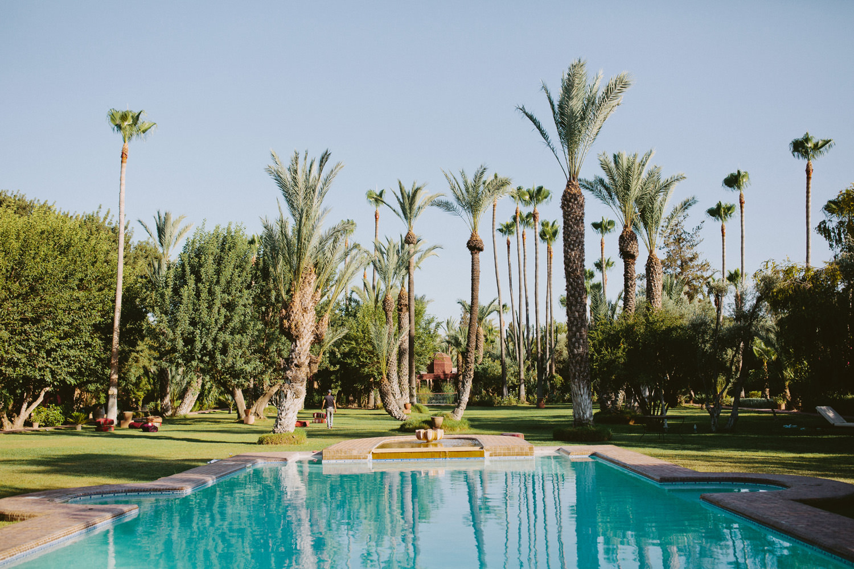 Gardens at Dar Ayniwen in Marrakech