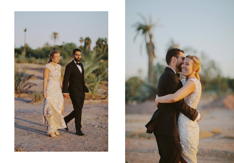 Marrakech wedding in the desert