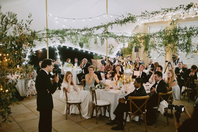 Suffolk wedding photographer with speeches